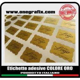 Etichette adesive ORO -...