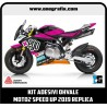 Kit adesivi OHVALE replica Moto2 SPEED UP 2019 - PLUS