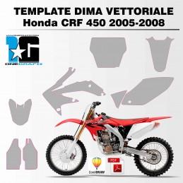 Honda CRF 450 2005-2008