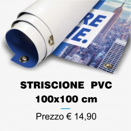 Banners in PVC 100x100 cm