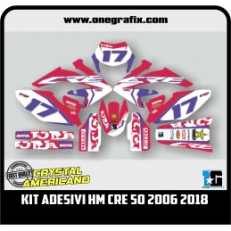 Decal Kit for HM Moto CRE...