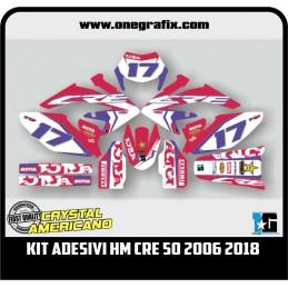Kit Grafiche HM Moto CRE 50...