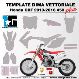 Honda CRF 450 2013-2016 PLUS