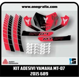 Decal kit for YAMAHA MT-07...