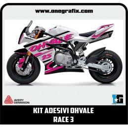 Kit OHVALE GP0 decals Race 3