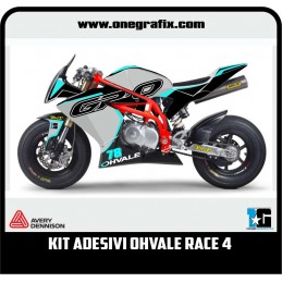 Kit OHVALE GP0 decals Race 4
