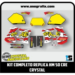 Complete REPLICA decal kit...