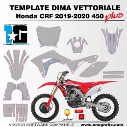 Honda CRF 450 2019-2020 PLUS