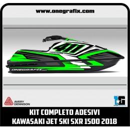 Jet Ski Decals Kawasaki SXR...