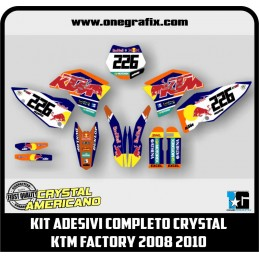 Decal Kit for KTM Factory...