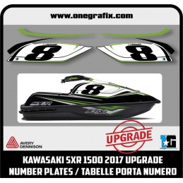 Decal number plates for...