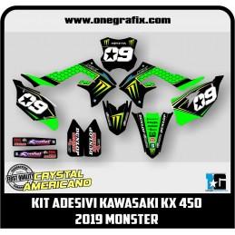 Kawasaki KX 450 decal kit...