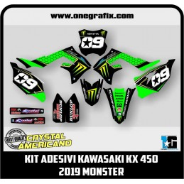 Kit adesivi Kawasaki KX 450...
