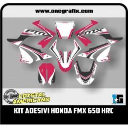 Honda FMX 650 HRC decal kit