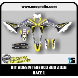 Sherco 300 2018 decal kit -...