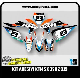 Decal Kit for KTM SX 350 2019