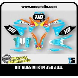 Decal Kit for KTM GoPro 350...