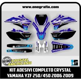 Decal kit for Yamaha YZF...