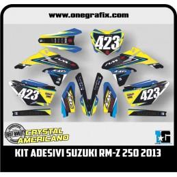 Suzuki RM-Z 250 2013 decal kit