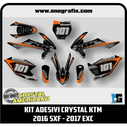 Decal Kit for KTM 2016 SXF...