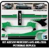 Kit Mercedes decals A45 AMG 2016 PETRONAS replica