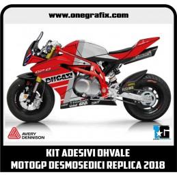 OHVALE decals Kit Ducati...