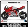 Kit adesivi OHVALE replica Ducati Desmosedici MotoGP 2018